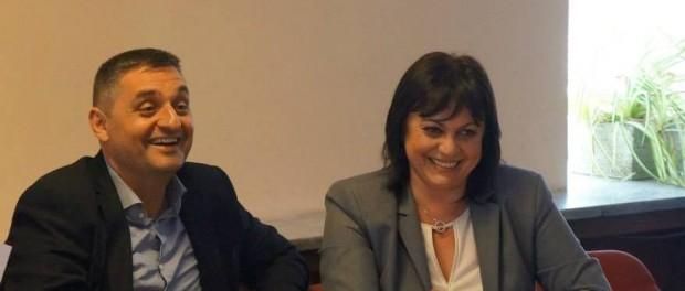 Корнелия Нинова и Кирил Добрев се срещат с габровци в петък