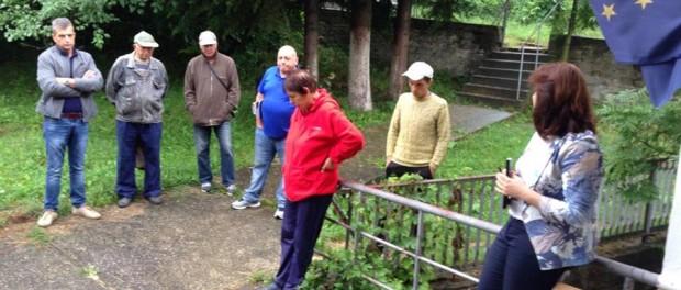 Приемна на Сидорова в село Здравковец