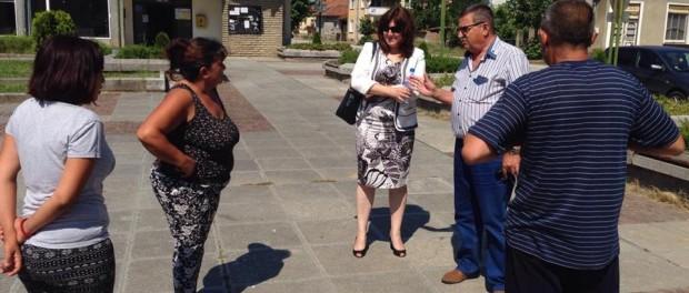Кристина Сидорова се срещна с жителите на с. Яворец