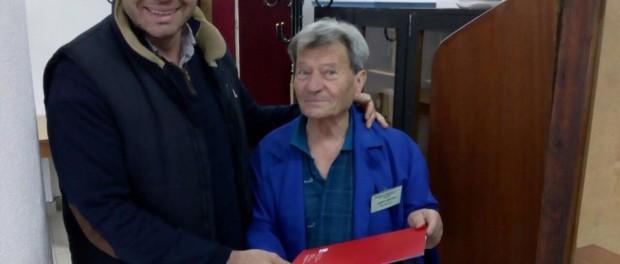 Здравко Кънчев поздрави възрастните хора в Габрово по случай празника им