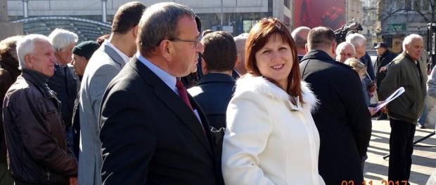 Сидорова подкрепи исканията на пенсионерите у нас
