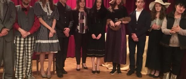 Кристина Сидорова поздрави с театрална постановка жителите на село Крамолин