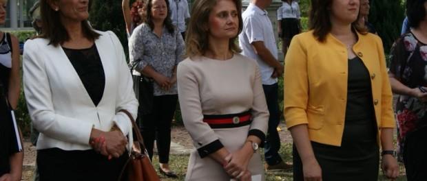 Кристина Сидорова бе гост на откриването на учебната година в НАГ
