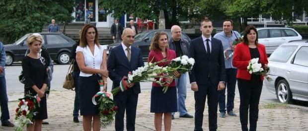 БСП Габрово уважи честванията за 6-ти септември